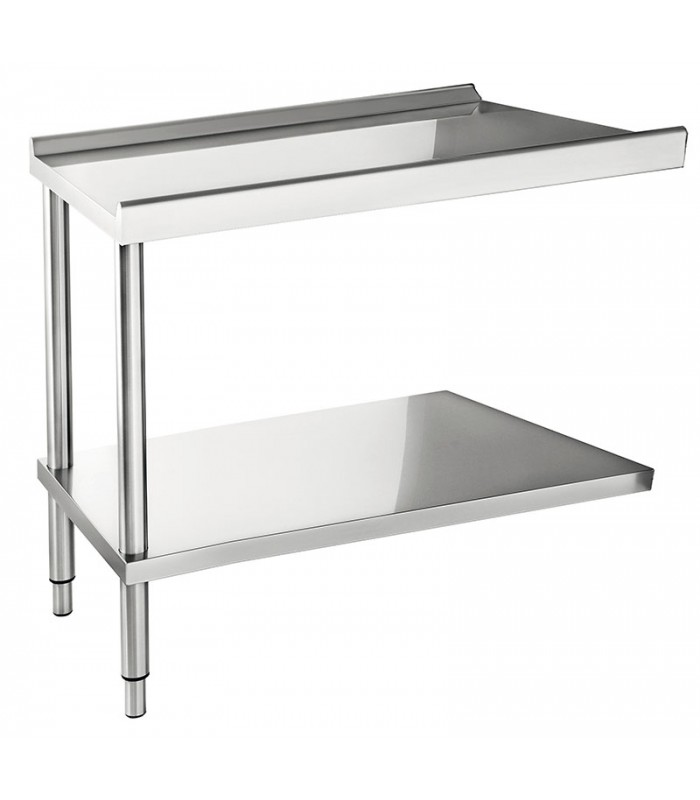Table d'entrée ou de sortie  pour lave-vaisselle 1200 mm